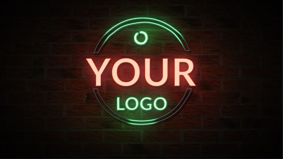 After Effects Neon Logo Reveal - Logo Animation 10